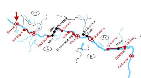 Radferien: Route